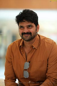 Sree Vishnu at Gaali Sampath Movie Interview