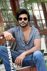Sundeep Kishan at A1 Express Movie Interview