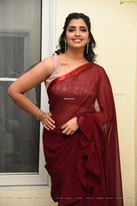 Syamala at Thellavarithe Guruvaram Pre Release Event