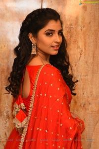 Shyamala at Sreekaram Movie Pre-Release Event