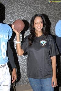 Elite Football League India Ambassador Lakshmi Prasanna