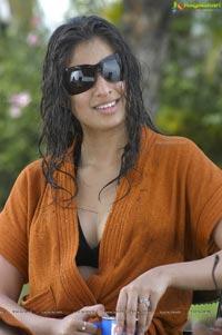 Hot Lakshmi Rai in Towelling Dress