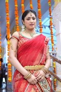 Haripriya in Half Saree