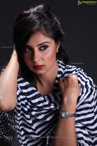 Indian Film Actress Bhanu Sri Mehra