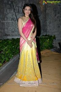 Kajal Aggarwal Dil Raju Daughter Wedding Reception