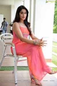 Regina Cassandra in Pink Dress