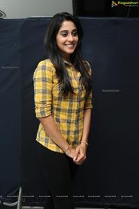 Regina Cassandra in Yellow Shirt