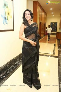 Regina in Black Saree