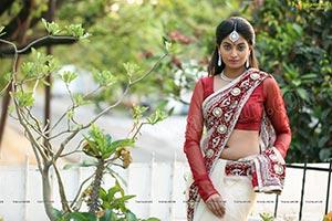 Sharon Fernandes in Saree