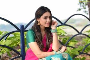 Anchal Singh Half Saree Photos