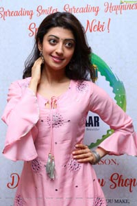 Pranita Subhash Pink Dress