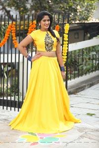 Sowmya Venugopal Yellow Dress
