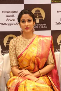 Lavanya Tripathi Pattu Saree