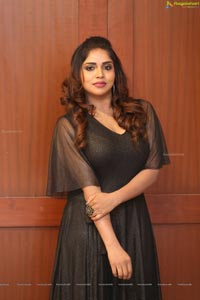 Karunya Chowdary at Yerra Cheera Logo Launch