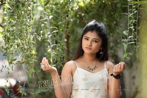 Rishika Nisha in White Long Gown