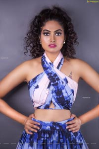 Divi Vadthya in eye-popping outfits