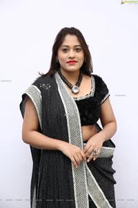 Tazaienath Gulraze in Black Lehenga Choli