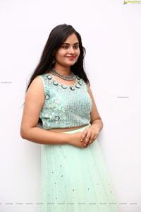 Vaanya Aggarwal in Pastel Green Lehenga Choli