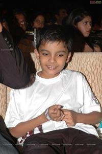 Pawan Kalyan with Akhira Nandan at Panjaa Audio Release