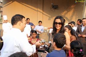 Namrata Shirodkar with her son Gautam Krishna Ghattamaneni