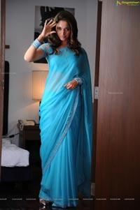Tamanna Hot in Saree Images