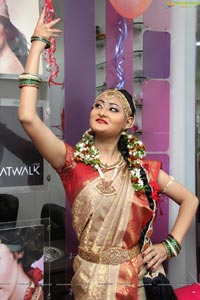 Model Niloufer at Lakme Somajiguda