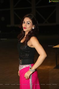 Aksha Pardasany at Hyderabad Talwar League Launch