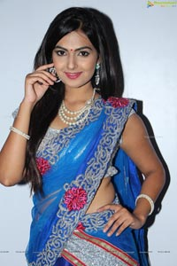Neha Deshpande at Hyderabad Talwar League Launch