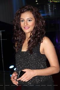 Seerat Kapoor at Hyderabad Talwar League Launch