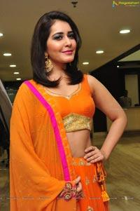Rashi Khanna in Orange Dress