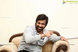 Ravi Teja at Amar Akbar Anthony Interview