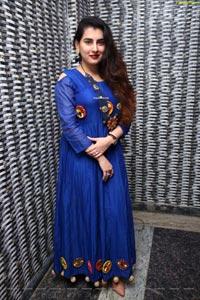 Archana Shastry Poses at Bahar Biryani Cafe