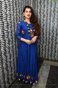 Archana Shastry Poses at Bahar Biryani Cafe