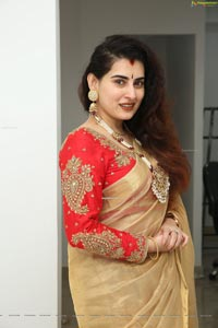 Archana Shastry at Sri Krishna Silks Exclusive Weaves