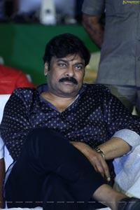 Chiranjeevi at Arjun Suravaram Pre-Release Event