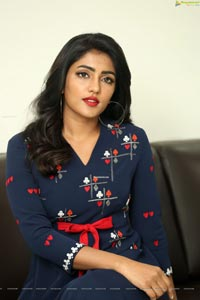 Eesha Rebba at Ragala 24 Gantallo Interview