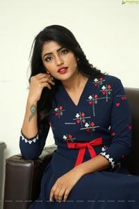 Eesha Rebba at Ragala 24 Gantallo Interview