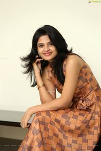 Harshitha Chowdary at Tholubommalata Press Meet