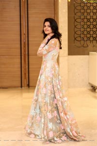 Harshitha Chowdary at Tholubommalata Pre-Release