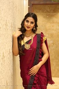 Jahnavi Rao With Jewellery
