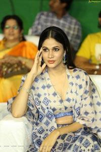 Lavanya Tripathi at Arjun Suravaram Pre-Release
