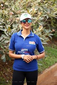 Manchu Lakshmi at Aditya Mehta Sporting Event