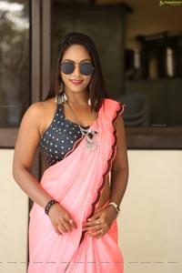 Meghana at Ranasthalam Audio Launch