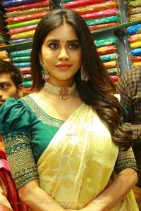 Nabha Natesh at Sri Kanchi Alankar Silks Launch