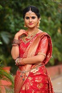 Priyanka Sharma at Roja Serial Sets