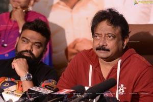 Ram Gopal Varma at Kamma Rajyam Lo Kadapa Reddlu Interview