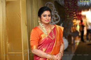 Sai Latha at Roja Serial Sets