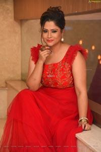 Shilpa Chakravarthy at Parari Movie Audio Launch