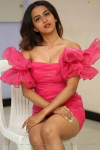 Shruti Shetty at Life Anubhavinchu Raja Trailer Launch
