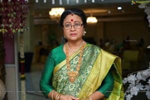 Senior Actress Srilakshmi at Roja Serial Sets